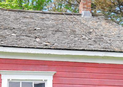 Schoolhouse roof