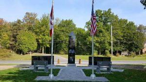 Memorial Service at the Civil War Monument @ Lost Villages Museum